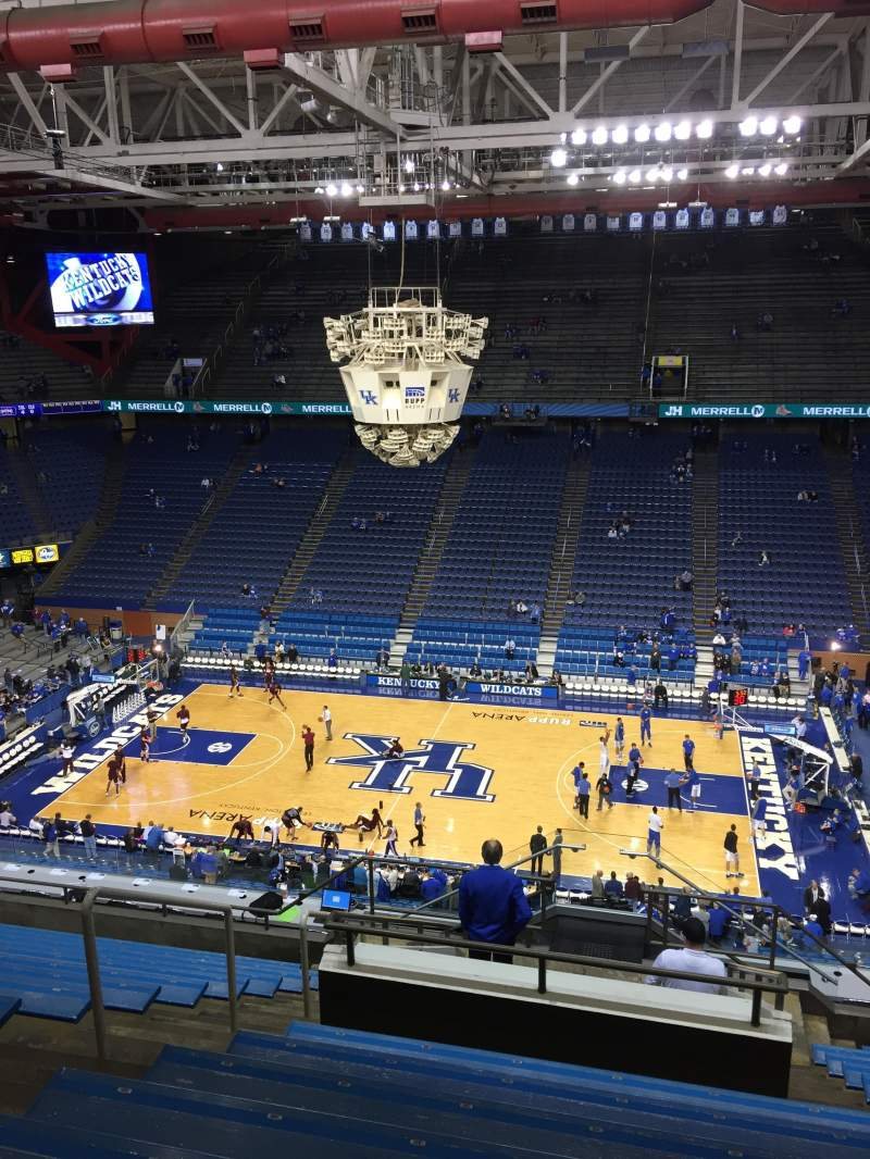 Seating view for Rupp Arena Section 230 Row P Seat 32