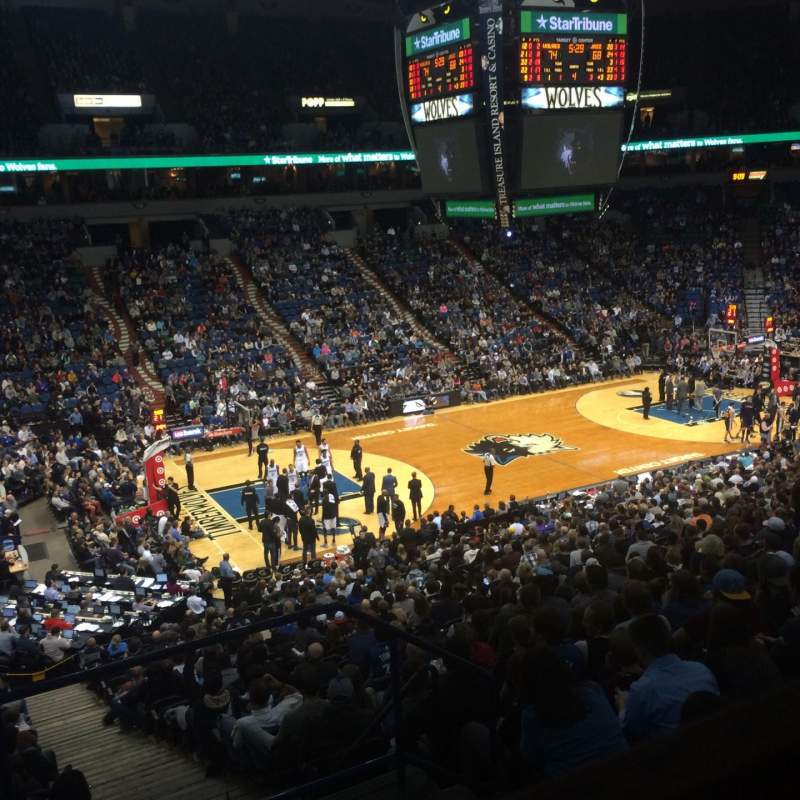 Seating view for Target Center Section Suite 57 Seat 13