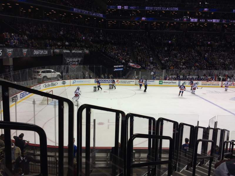 Seating view for Barclays Center Section 28 Row 16 Seat 14
