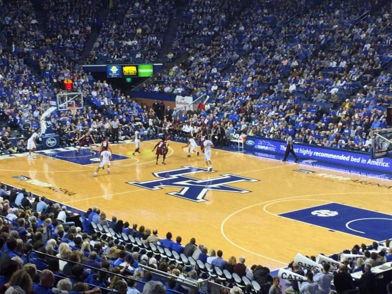Seating view for Rupp Arena Section 44 Row P Seat 2