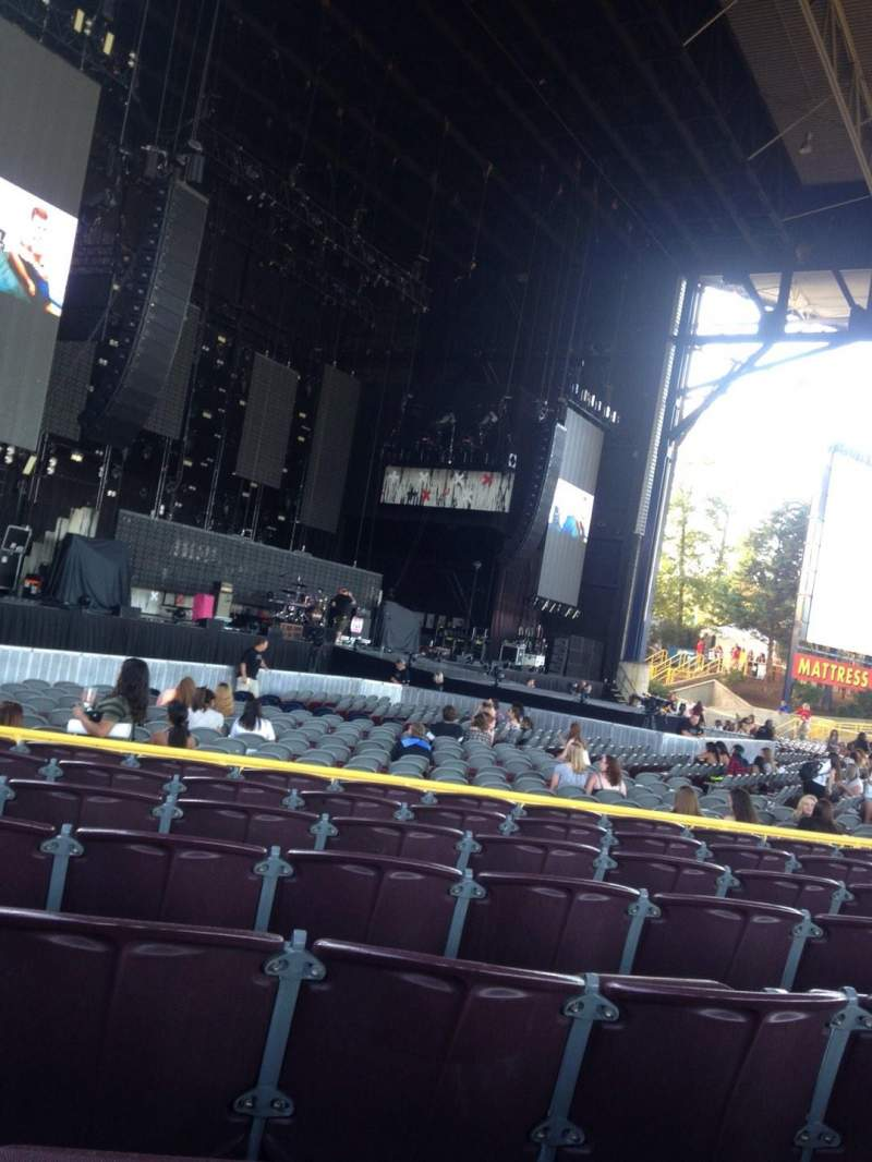 Jiffy Lube Live, section: 103, row: G, seat: 23