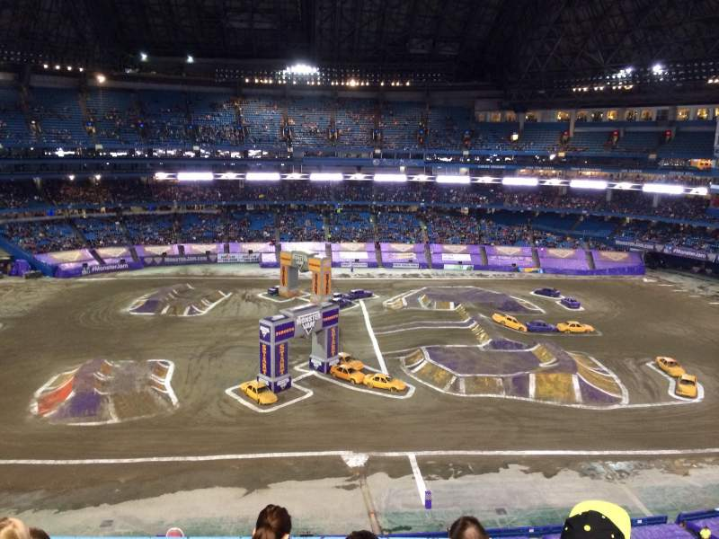 Seating view for Rogers Centre Section 513R Row 4 Seat 10