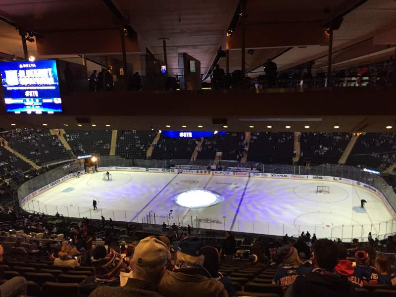 Seating view for Madison Square Garden Section 225 Row 22 Seat 19