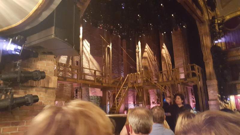 Seating view for Richard Rodgers Theatre Section Orchestra Left Row D Seat 17