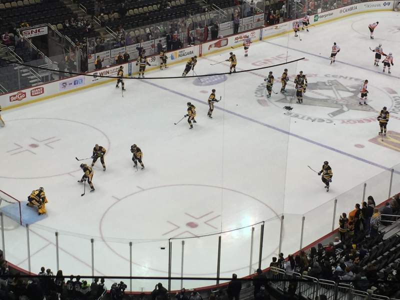 Seating view for PPG Paints Arena Section 224 Row C Seat 15