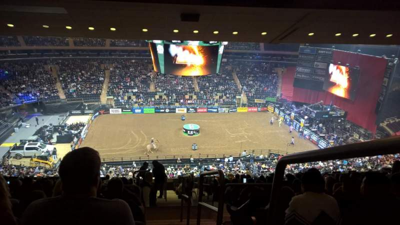 Madison Square Garden Section 210 Row 17 Seat 22 Professional Bull Riding Shared Anonymously