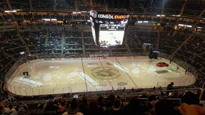 Seating view for PPG Paints Arena Section 204 Row M Seat 5
