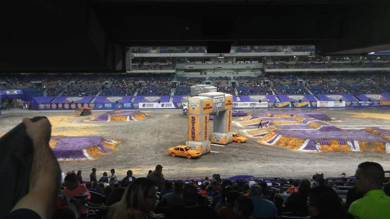 Seating view for Alamodome Section 135 Row 34 Seat 8