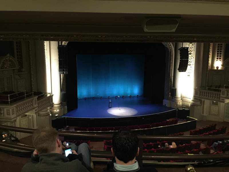 Seating view for Majestic Theatre - Dallas Section Mezzanine Box S Row C Seat 3