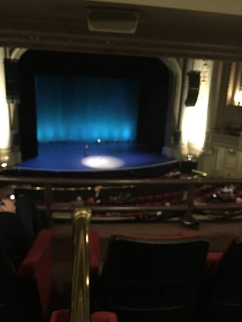 Seating view for Majestic Theatre - Dallas Section Mezz S Row 3 Seat 4