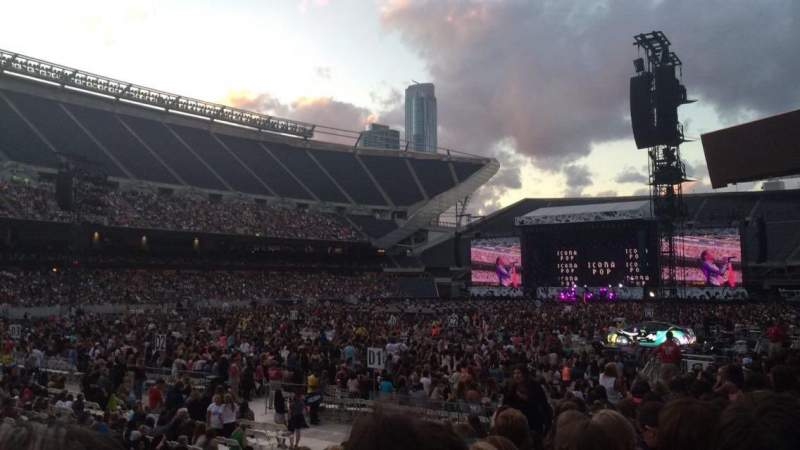 Seating view for Soldier Field Section 115 Row 10 Seat 2