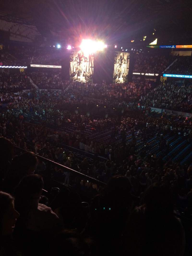Seating view for Allstate Arena Section 209 Row C Seat 20