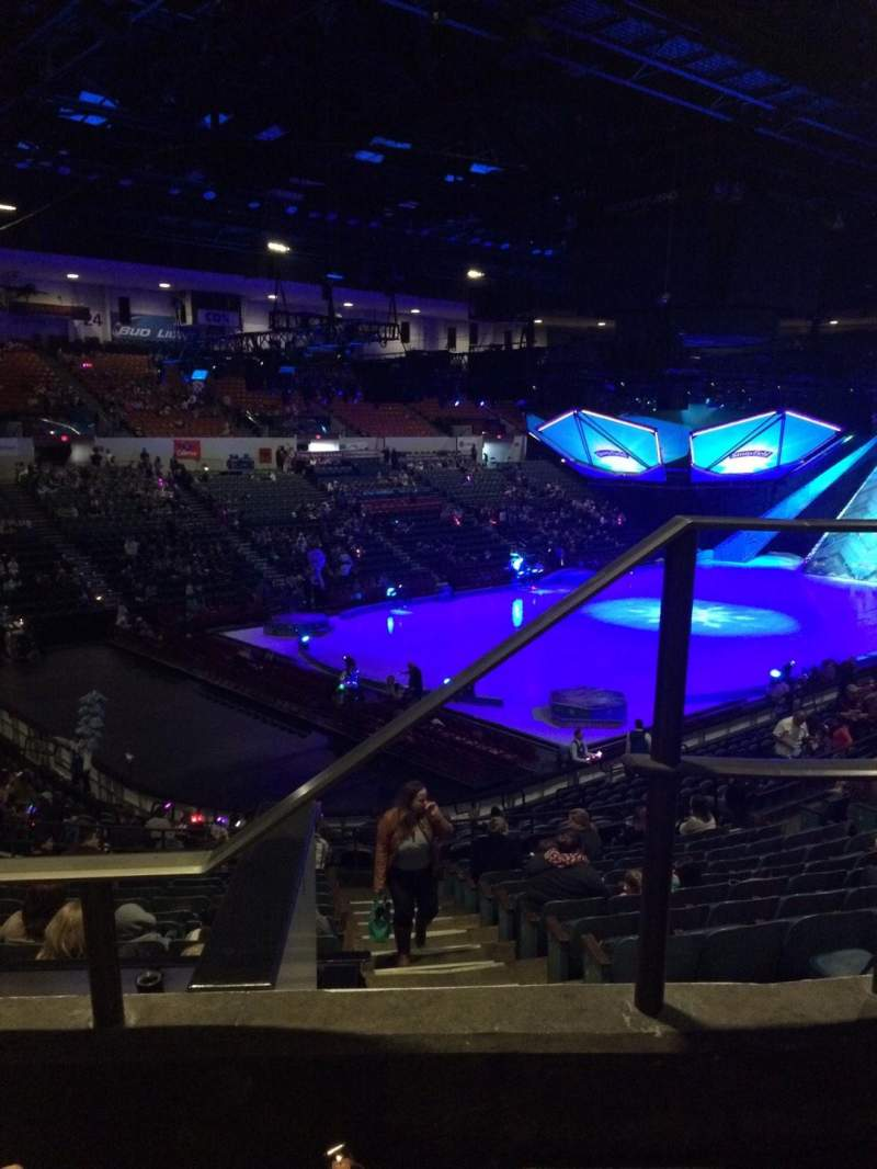 Seating view for Valley View Casino Center Section T17b Row 2 Seat 1