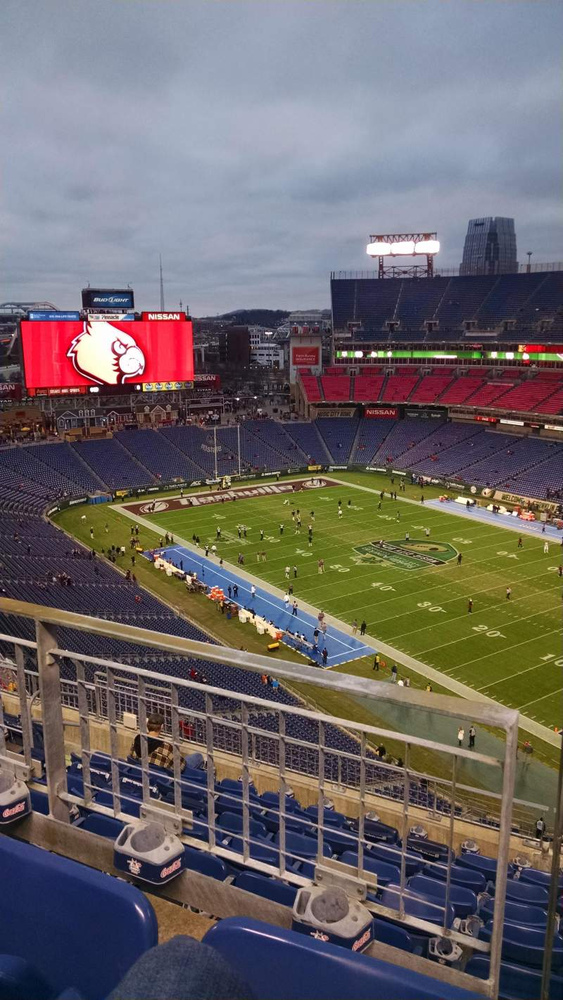Seating view for Nissan Stadium Section 304 Row 2