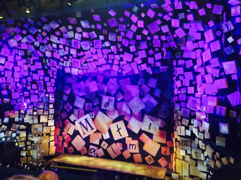 Seating view for Shubert Theatre Section Mezz Row E Seat 6
