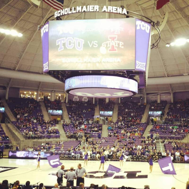 Seating view for Schollmaier Arena Section 110 Row C Seat 13