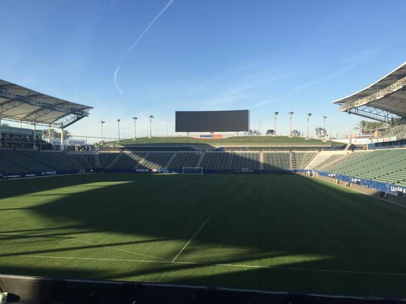 Seating view for StubHub Center Section 141 Row M Seat 15