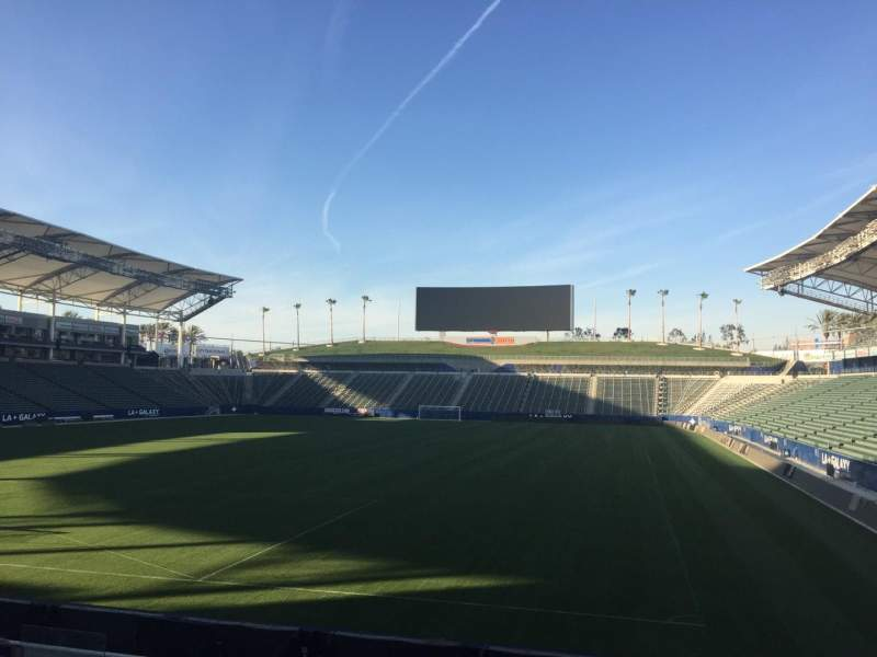 Seating view for StubHub Center Section 140 Row N Seat 15
