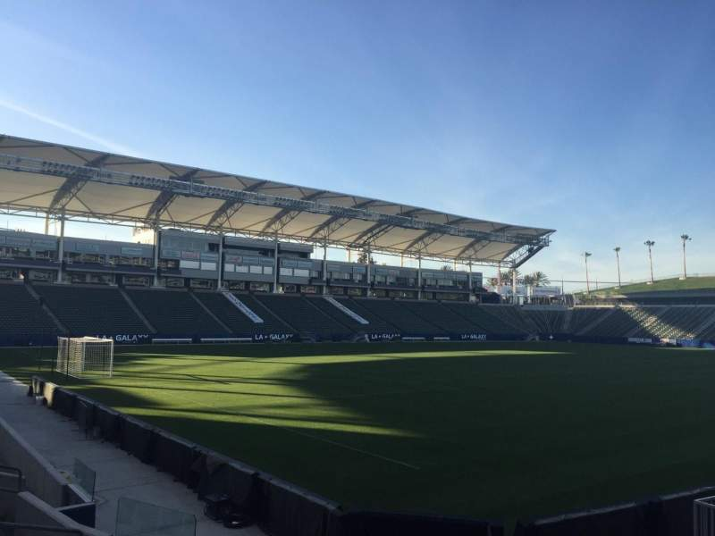 Seating view for StubHub Center Section 138 Row H Seat 15