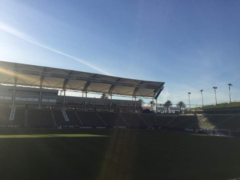 Seating view for StubHub Center Section 133 Row H Seat 15