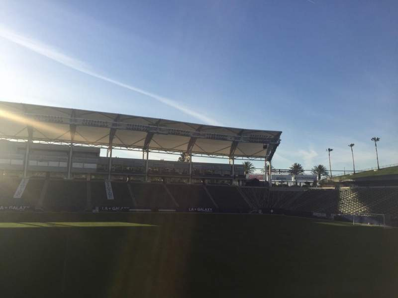 Seating view for StubHub Center Section 132 Row H Seat 15