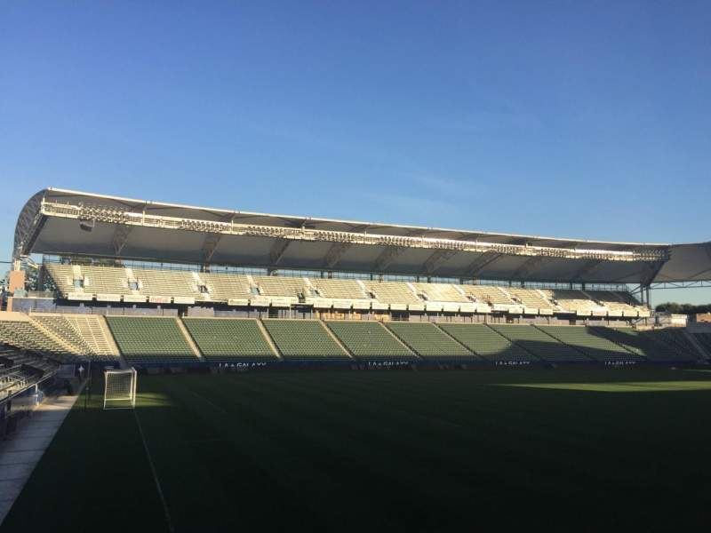 Seating view for StubHub Center Section 116 Row G Seat 15