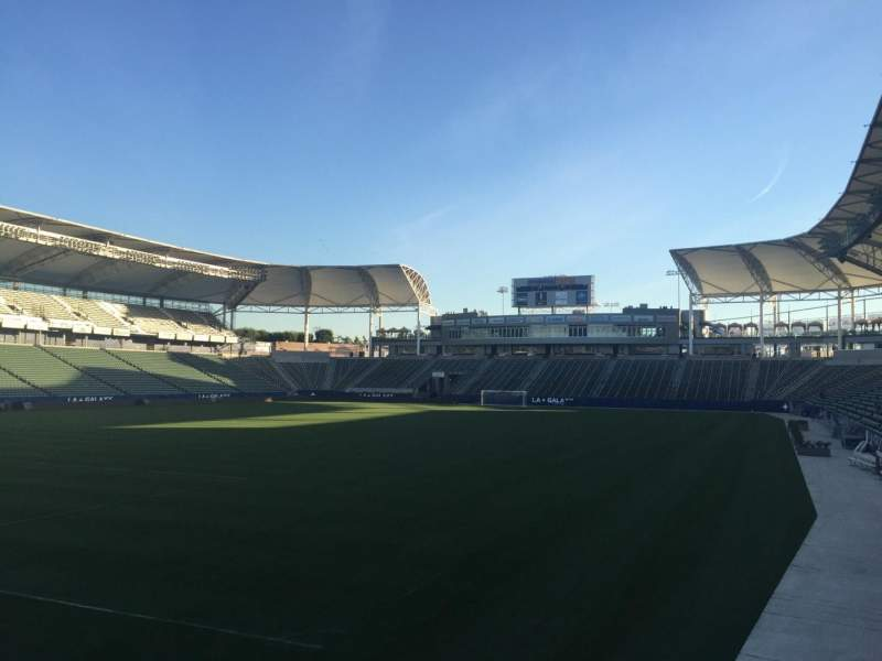 Seating view for StubHub Center Section 118 Row G Seat 15