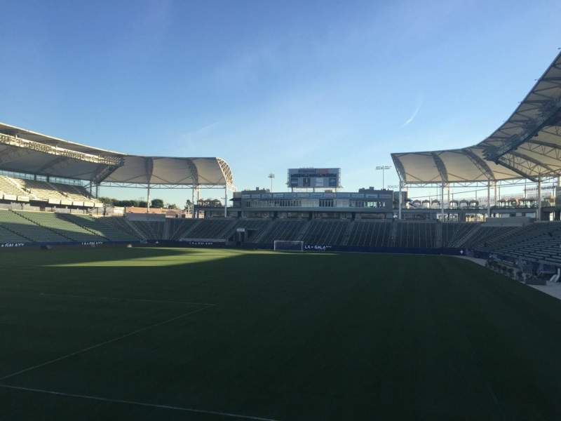 Seating view for StubHub Center Section 119 Row G Seat 15