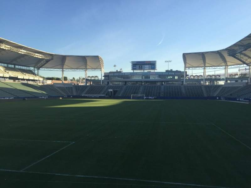 Seating view for StubHub Center Section 120 Row C Seat 15