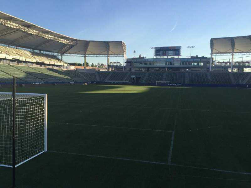 Seating view for StubHub Center Section 121 Row C Seat 15
