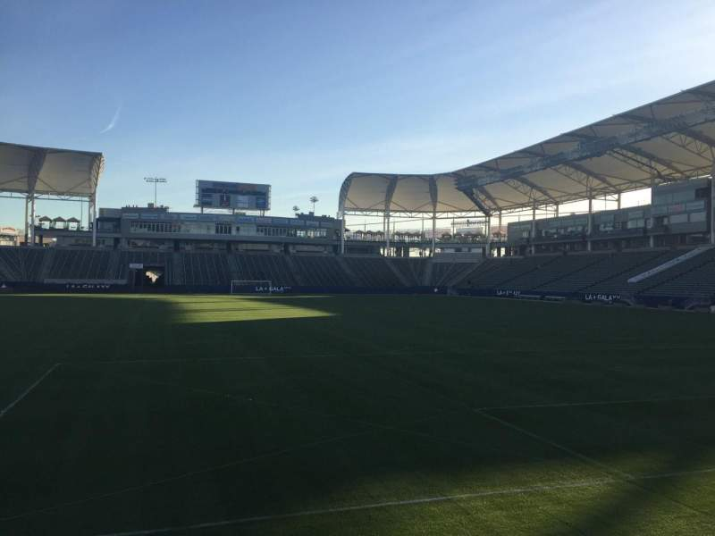 Seating view for StubHub Center Section 123 Row C Seat 15
