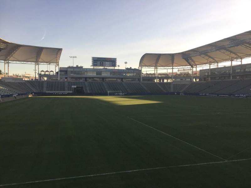 Seating view for StubHub Center Section 124 Row C Seat 15