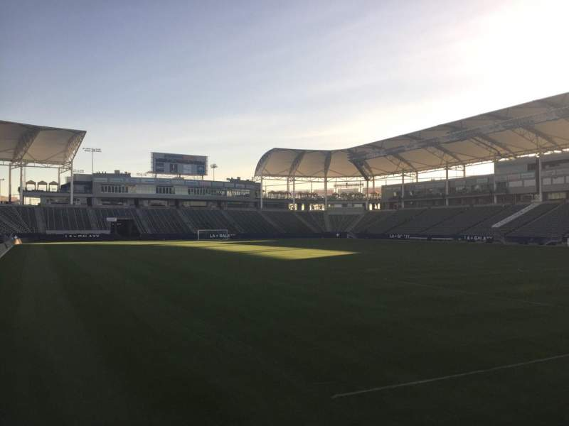 Seating view for StubHub Center Section 125 Row C Seat 15