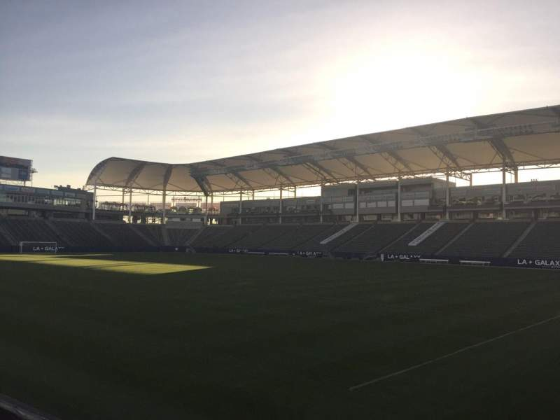 Seating view for StubHub Center Section 126 Row C Seat 15