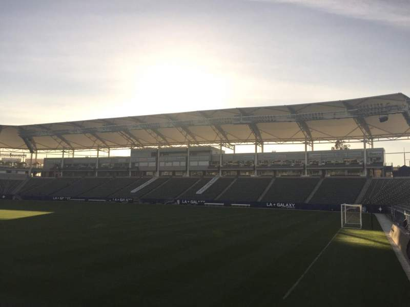 Seating view for StubHub Center Section 127 Row C Seat 15