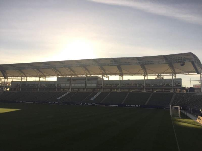 Seating view for StubHub Center Section 128 Row C Seat 15