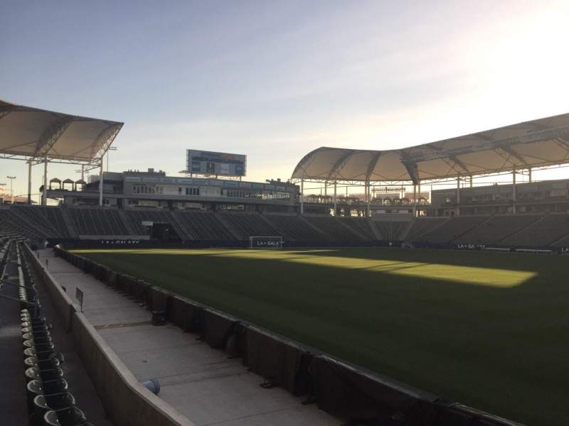 Seating view for StubHub Center Section 129 Row C Seat 15