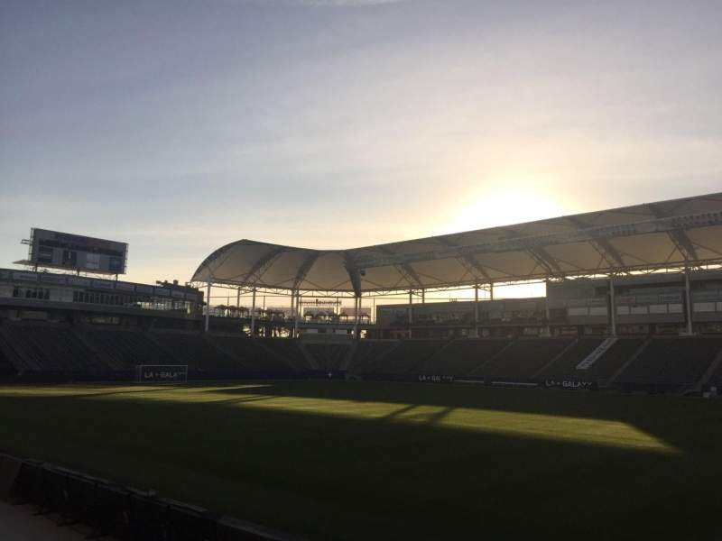 Seating view for StubHub Center Section 130 Row C Seat 15
