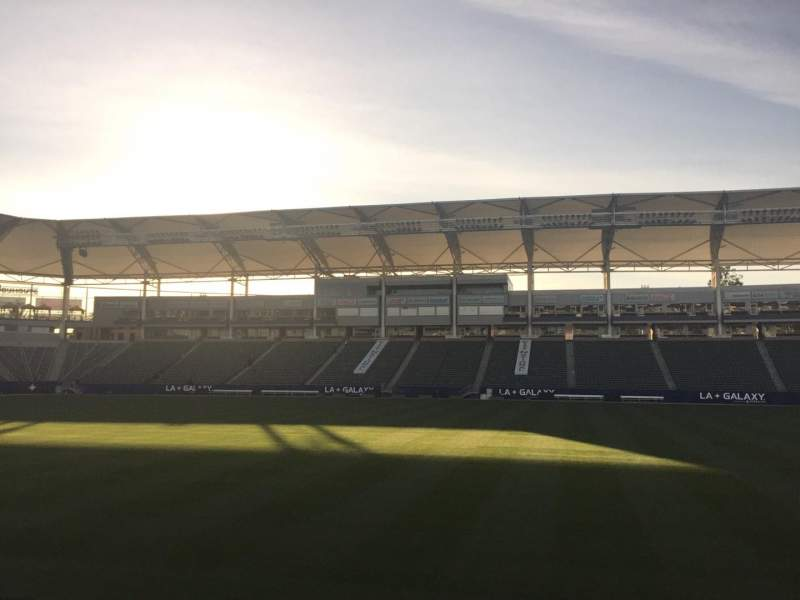 Seating view for StubHub Center Section 131 Row C Seat 15