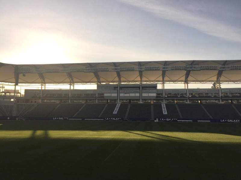 Seating view for StubHub Center Section 132 Row C Seat 15