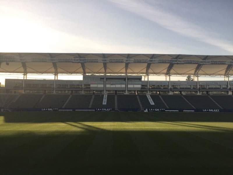 Seating view for StubHub Center Section 133 Row C Seat 15