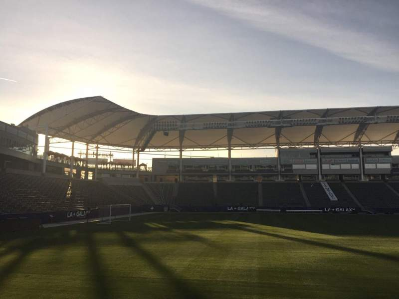 Seating view for StubHub Center Section 135 Row C Seat 15