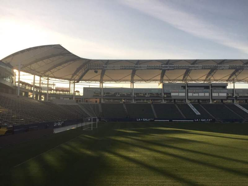 Seating view for StubHub Center Section 136 Row C Seat 15
