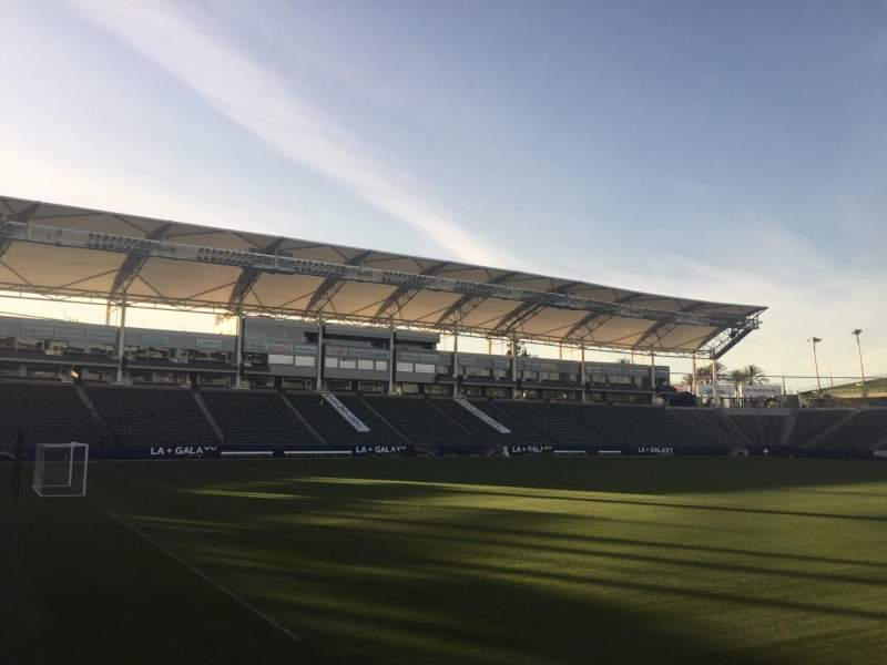 Seating view for StubHub Center Section 137 Row C Seat 15