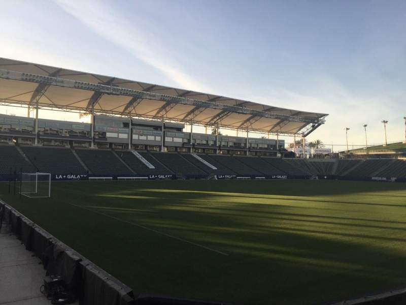 Seating view for StubHub Center Section 138 Row C Seat 15