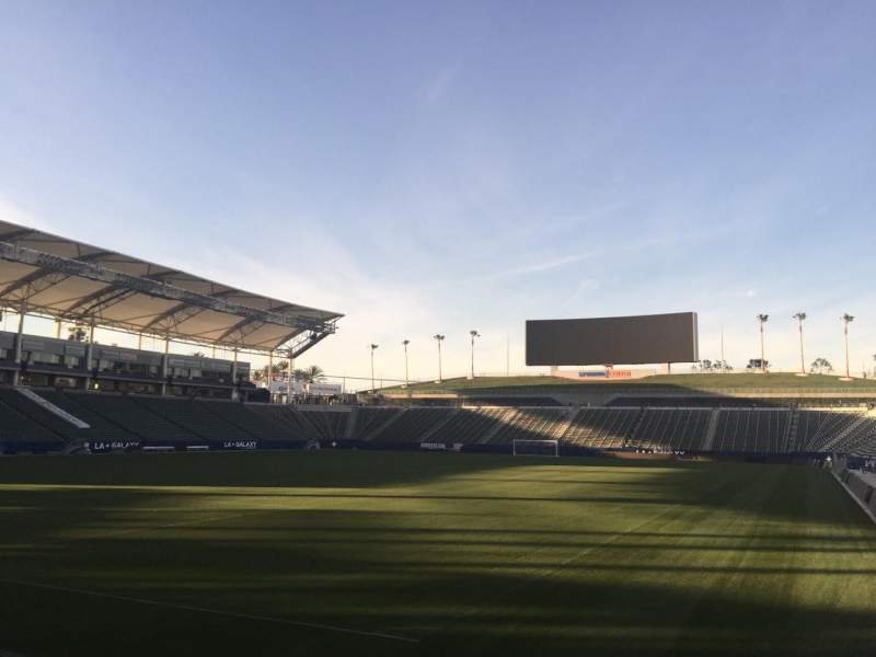 Seating view for StubHub Center Section 139 Row C Seat 15