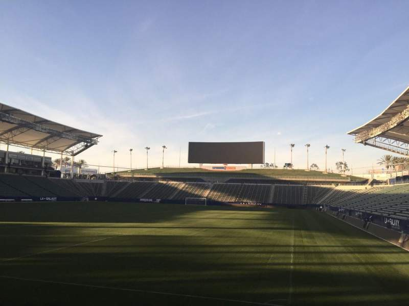 Seating view for StubHub Center Section 140 Row D Seat 15