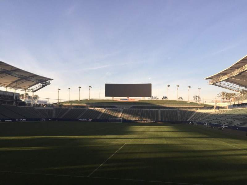Seating view for StubHub Center Section 141 Row D Seat 15