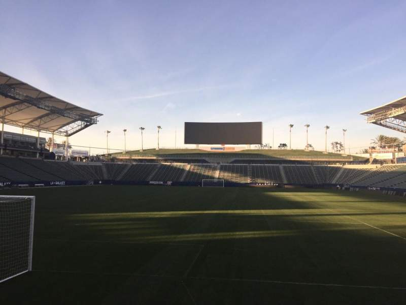 Seating view for StubHub Center Section 142 Row C Seat 15