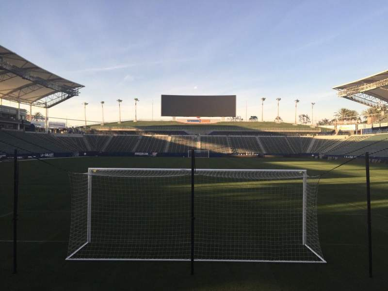 Seating view for StubHub Center Section 101 Row C Seat 15